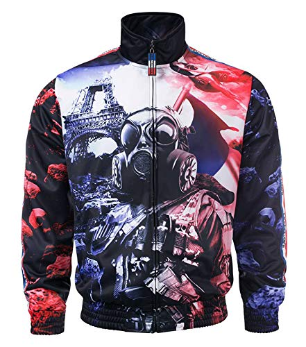100% HARDCORE Trainingsjacke Frenchcore Jacke Paris (XS)