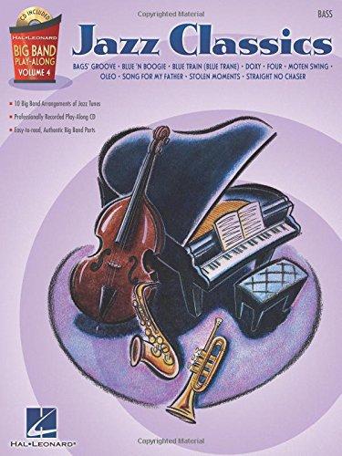 Jazz Classics - Bass: Big Band Play-Along Volume 4