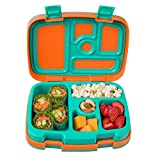 Bentgo Kids Brights – Leak-Proof, 5-Compartment Bento-Style Kids...