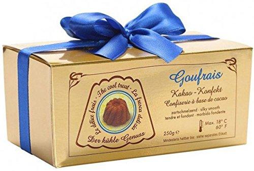 Goufrais Kakao Konfekt - Geschenkpackung 32 Stück 250g