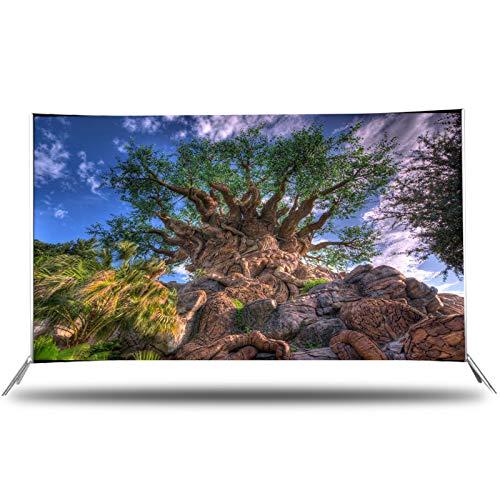 CYYAN TV de Pantalla Curva de 32/42/50/55/60 Pulgadas, TV LCD TV LED para el hogar