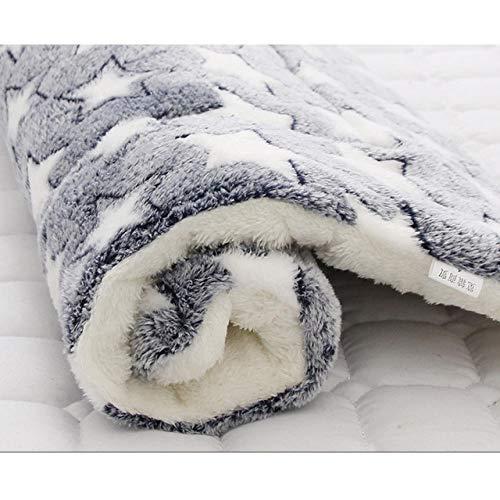 Pet Mat Hundebett Verdicken Warme Katze Hundedecke Welpe Schlafen Cover Handtuch Kissen für kleine mittelgroße große Hunde @ L