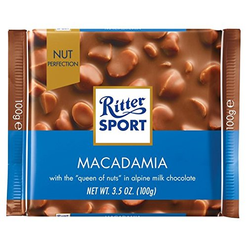 Ritter Sport Nuss Perfektion Macadamia Milchschokolade 100g