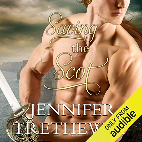 Saving the Scot audiobook cover art