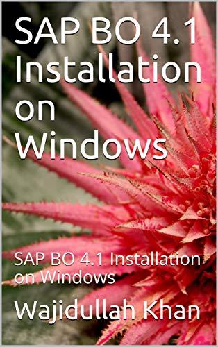 SAP BO 4.1 Installation on Windows