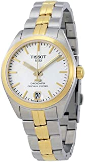 Tissot PR 100 Automatic Silver Dial Ladies Watch T101.208.22.031.00