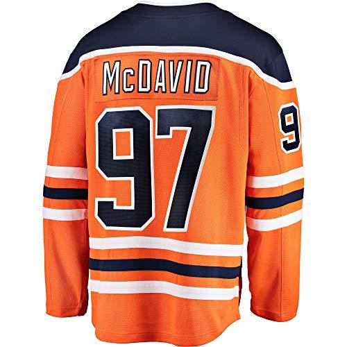 Connor McDavid Edmonton Oilers Infants Toddler Home Premier Jersey (12-24 Months)