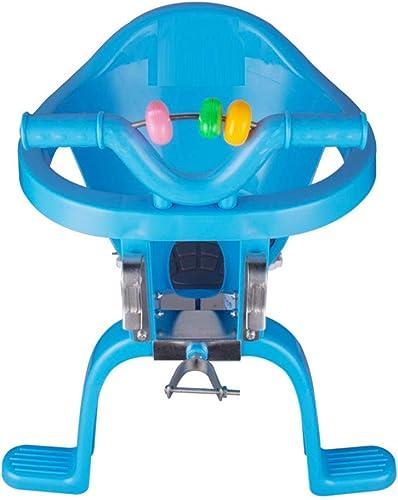 mas preferencial Joyfitness Bicicleta Asiento de Seguridad Seguridad Seguridad para Niños Bebé Colgante Delantero y Trasero Asiento de plástico Silla Delantera del Asiento Trasero del bebé Silla Colgante,azul,46x39cm  ofreciendo 100%