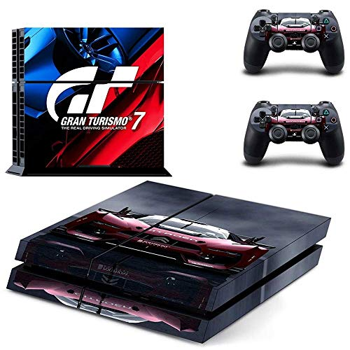 FENGLING Gran Turismo GT Sport Ps4 Stickers Playstation 4 Skin Ps4 Sticker Decal Cover para Playstation 4 Ps4 Console & Controller Skins