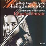Mendelssohn, Glazunov: Violin Concertos