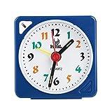 Despertadore Electr¨nico LED Alarma Despertador Reloj Despertador Despertador para Ni?os con Luz de Fondo y Funci¨n de Repetici¨n para el Dormitorio de La Oficina en el Hogar de Viaje(Blue)