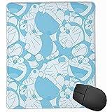 マウスマットマウスマットマウスパッドかわいいドラえもんコンピュータマウスマット25x30cm