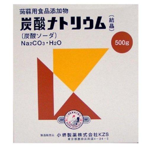 小堺製薬 炭酸ナトリウム 500g