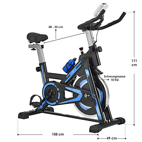 Fitness Trainingsrad ArtSport Speedbike RapidPace Bild 4*