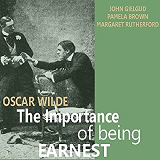 The Importance of Being Earnest audiobook cover art