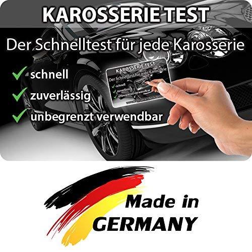 Preisvergleich Produktbild JEWADO Grip Magnetkarte - Karosserie Test beim Autokauf,  Lacktester,  Spachtelprüfer für Karosserie Check,  Auto Lack Tester oder Prüfer - bekannt aus TV-Werbung