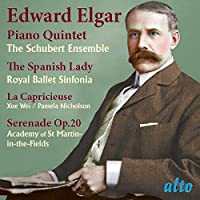 Elgar: Piano Quintet; Spanish Lady Suite by PAMELA SCHUBERT ENS / ROYAL BALLET SINFONIA / XUE WEI / NICHOLSON