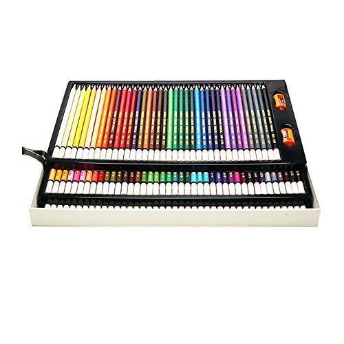 3Cats Art Supplies 120 kleurpotloden, professionele houtkleurpotloden, volwassenen, kleuring, milieutekening, potlood en kinderen, graffiti, tekening, kunst potlood, geschikt voor beginners en kunstenaars