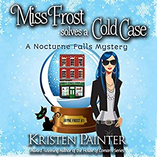 Miss Frost Solves a Cold Case     Jayne Frost, Book 1              By:                                                                                                                                 Kristen Painter                               Narrated by:                                                                                                                                 Hollis McCarthy                      Length: 8 hrs and 8 mins     1,995 ratings     Overall 4.2