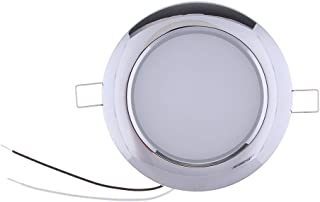 Baosity RV LED Recessed Ceiling Dome Roof Light Fixture 4.5 inch Interior Lighting for Car/RV/Trailer/Camper/Boat - DC 12...