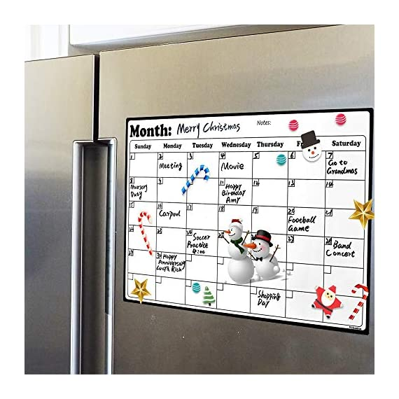 Fridge-Calendar-Magnetic-Dry-Erase-Calendar-Whiteboard-Calendar-for-Refrigerator-Planners-169-Inches-X-118-Inches