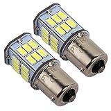 1156 P21w Ba15s Lampadina LED 10-80v Ampia tensione 5 watt, 50W equivalente, luce bianca per luce di retromarcia, luci posteriori, luci diurne, etc