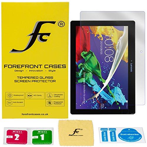 Forefront Cases® [HD KLARHEIT] Gehärtetes Glas Bildschirm Schutz Protektor Folie für Lenovo Tab 2 A10-30F 25,6 cm (10,1 Zoll HD) Tablet-PC [Ultra DÜNN nur 0.3mm]