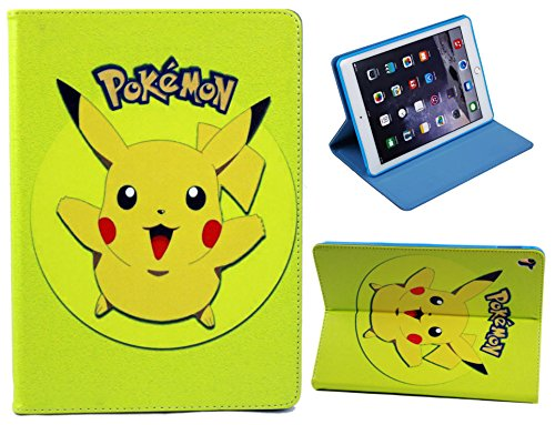 For Apple iPad Mini 1 2 3 4 5 Great Pokemon Pikachu Fun Kids Cartoon Case Cover