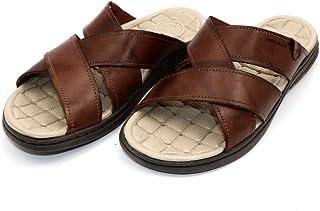 PEGADA Choclate Ideal Designs Slipper for Men