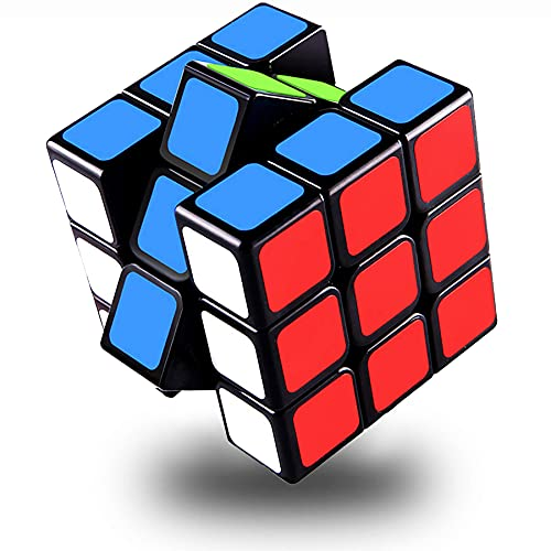 Speed Cube Set 3x3,Original Magic Cube Puzzle Toy Full Size 56mm,QIYI Sail W Speed Cube,Easy Turning...