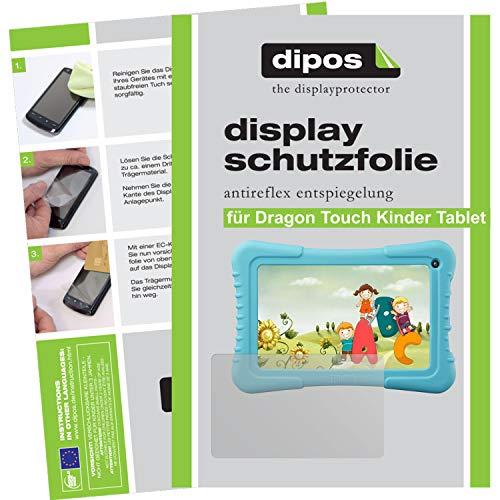 dipos–Dragon Touch 7Pulgadas Pantalla compatible con niños Tablet (2Unidades, antirreflectante), Mate