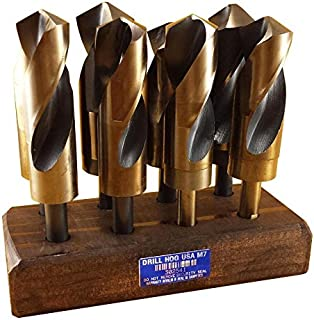 Drill Hog Jumbo Silver Deming Drill Bit Set HI-Molybdenum M7 1-1/16