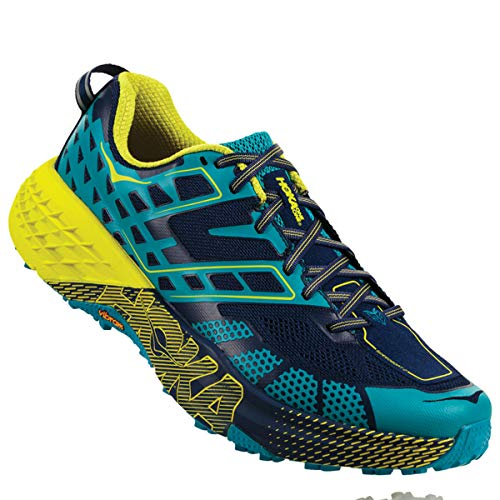 Hoka One - Zapatillas de Senderismo para Hombre Caribbean Sea/Blue Depths, Color, Talla US 9.5 | EU 43 1/3
