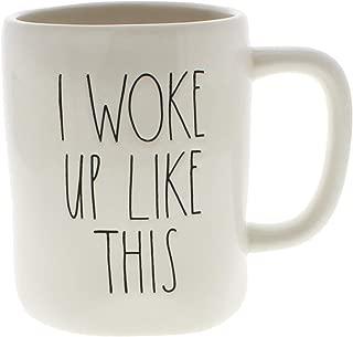 Rae Dunn by Magenta I WOKE UP LIKE THIS Ceramic LL Coffee Mug