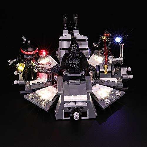 BRIKSMAX Led Beleuchtungsset für Lego Star Wars Darth Vader Transformation, Kompatibel Mit Lego 75183 Bausteinen Modell - Ohne Lego Set