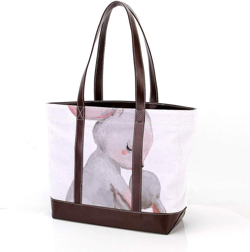 Large Capacity Lovely Rabbit Family f Tote Ranking TOP15 Handbags Phoenix Mall Pattern Bags