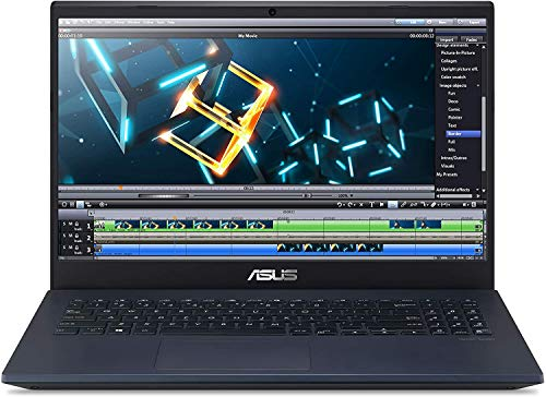 "CUK VivoBook K571 by ASUS 15 Inch Gaming Laptop (Intel Core i7, 16GB RAM, 256GB NVMe SSD + 1TB HDD, NVIDIA GeForce GTX 1650 Ti 4GB, 15.6"" FHD, Windows 10 Home) Thin Notebook Computer"