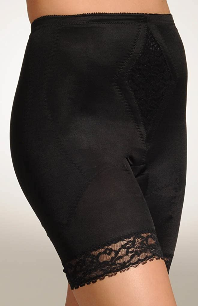 OFFicial Rago Diet Minded Long Leg Black 6795 Shapewear Tampa Mall XL