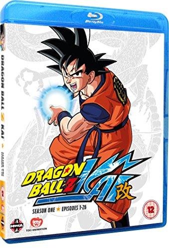 Dragon Ball Z KAI Season 1 (Episodes 1-26) Blu-ray [UK Import]