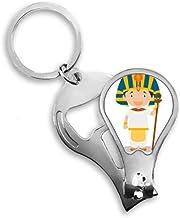 DIYthinker Sombrero amarillo Egipto de dibujos animados del uña del dedo de las podadoras del cortador