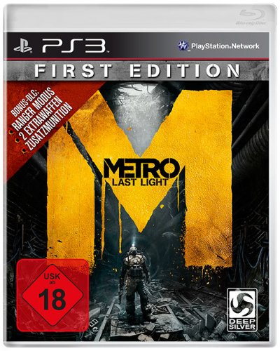 Metro: Last Light - First Edition - 100% uncut - [PlayStation 3]