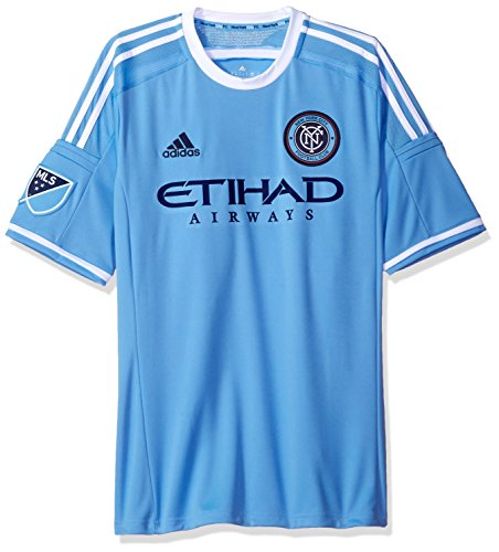 adidas New York City FC MLS Performance Replica Jersey Trikot - Light Blue