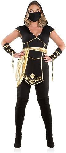precios bajos Wohombres Plus Talla Ninja Assassin Fancy Fancy Fancy Dress Costume 1X  echa un vistazo a los más baratos