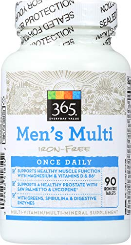 365 Everyday Value, Men's Multi Iron-Free, 90 ct