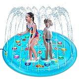 Tapete de Juegos de Agua Almohadilla de Aspersor de Juego Splash Pad...