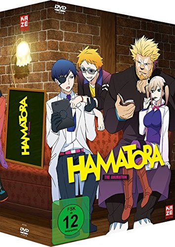 Hamatora-Staffel 1-Vol.1-[DVD] mit Sammelschuber & Manga [Import]