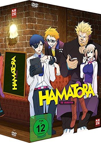 Hamatora - DVD Vol. 1 + Sammelschuber + Manga Bd. 1 [Import allemand]