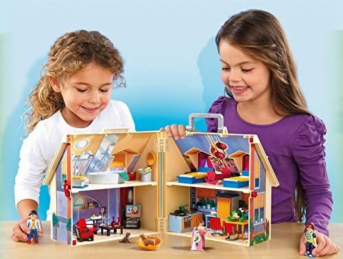 Maison Transportable Playmobil - 5167 - Jeu de Construction - 1