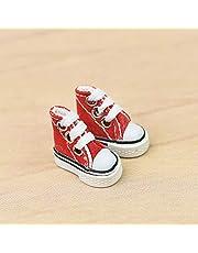 IrahdBowen CM Mini Vinger Schoenen Dansschoenen Vinger Skateboard Canvas Schoenen Leuke Skateschoenen Poppenschoenen Furnier Schoen Finger Dansschoenen good-look