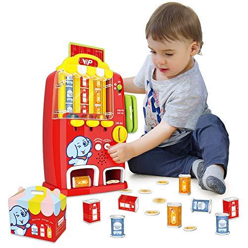 VATOS Mini Automaten Spielzeug Kinder Rollenspiel Spielzeug mit Licht und Ton, Lernspielzeug ab 3 4 5 6+ Jahre Mädchen Junge Kinder Geschenke